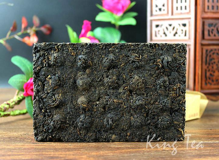 Free Shipping 2012 TAE DaYi Lao Cha Tou Zhuan Brick 250g China YunNan MengHai Chinese Puer Puerh Ripe Tea Cooked Shou Cha Premium