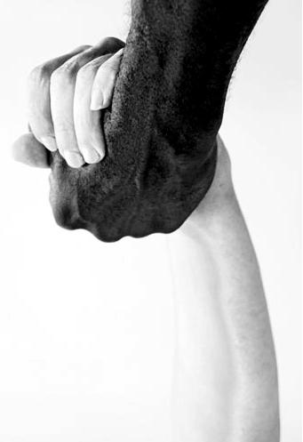 hands, blanco y negro