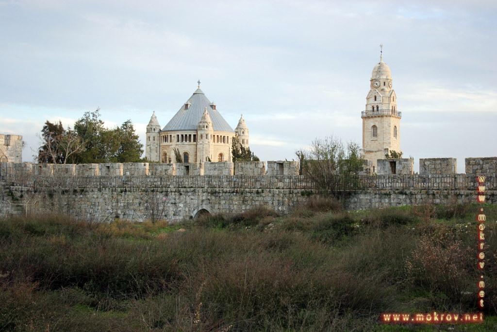 Исторический центр Иерусалима фотозарисовки