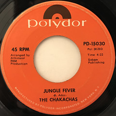 THE CHAKACHAS:JUNGLE FEVER(LABEL SIDE-A)
