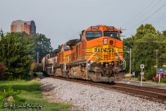 BNSF 5702 | GE AC44CW | NS Memphis District