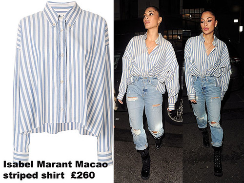 Isabel-Marant-Macao-striped-shirt
