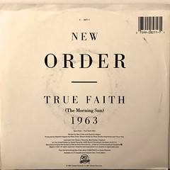 NEW ORDER:TRUE FAITH(JACKET B)