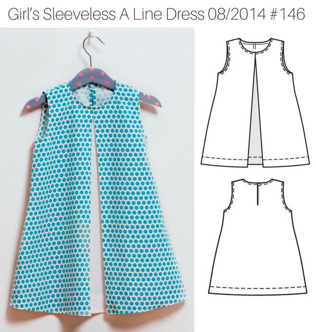 2Girl's Sleeveless Dress 1