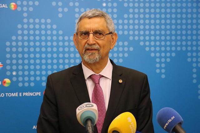 Presidente da República de Cabo Verde visita sede da CPLP