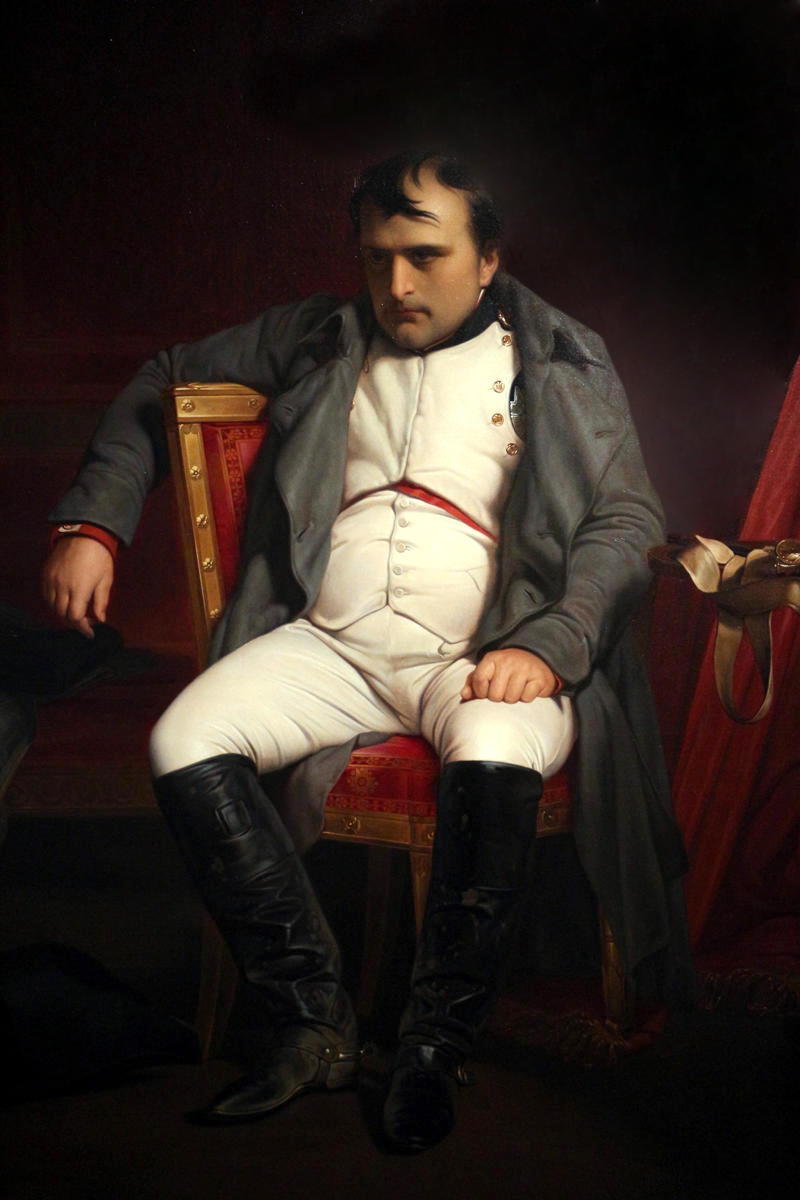 Napoleon I at Fontainebleau by Paul Delaroche