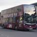 First West of England Unibus Enviro 400 MMC YX66 WEP 33944, Bath Spa 17.11.17