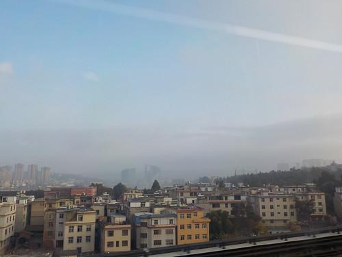 なんか中国っぽい空気