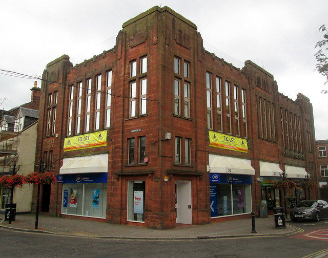 Art Deco Former County House, Dumfries