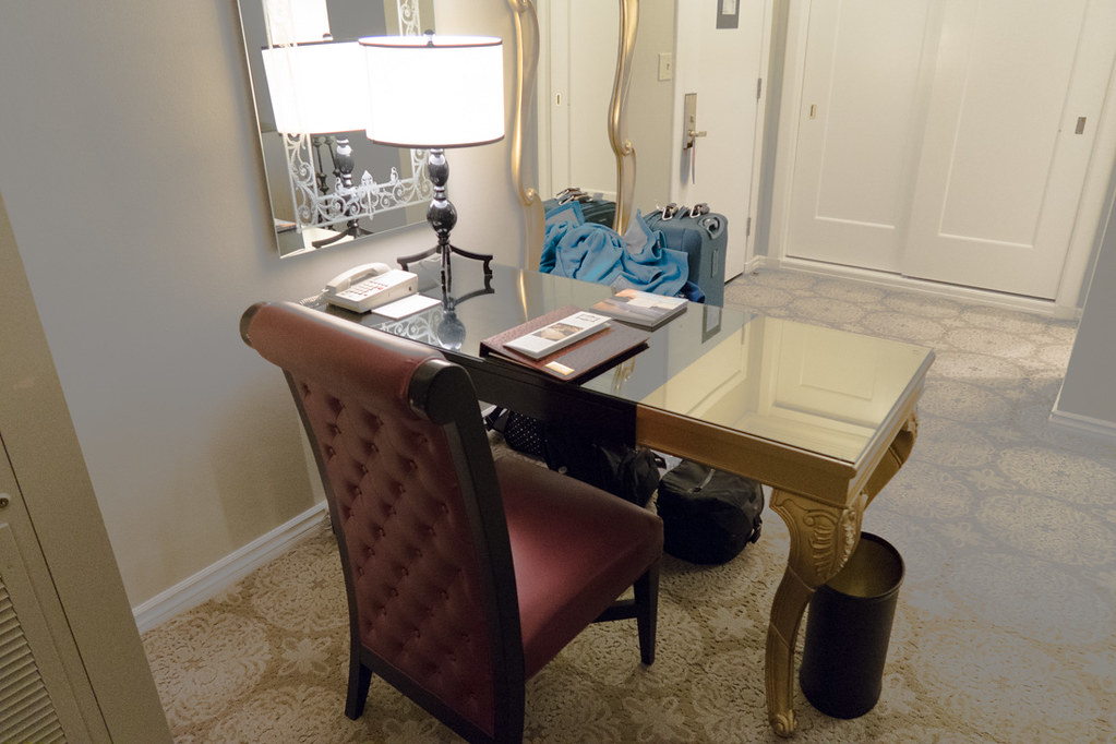 Desk in Premium Room | San Francisco Hotels