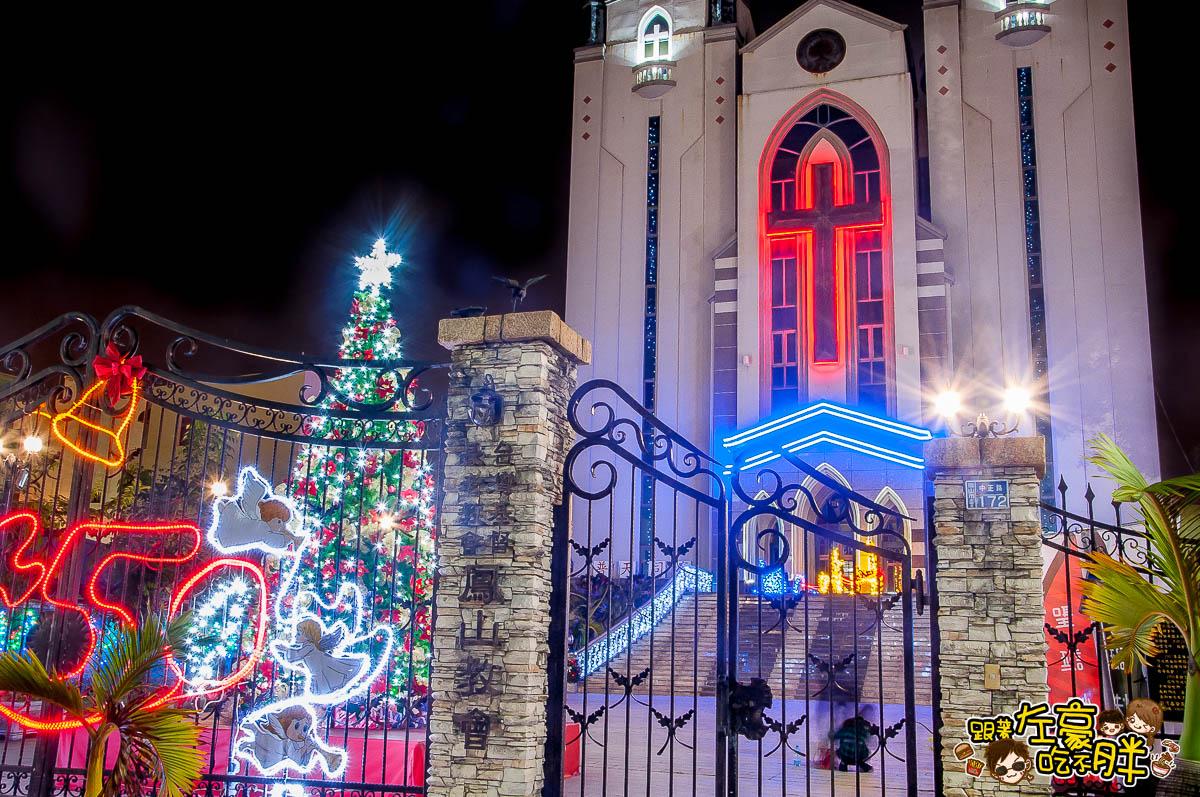鳳山最美教堂聖誕景點-26
