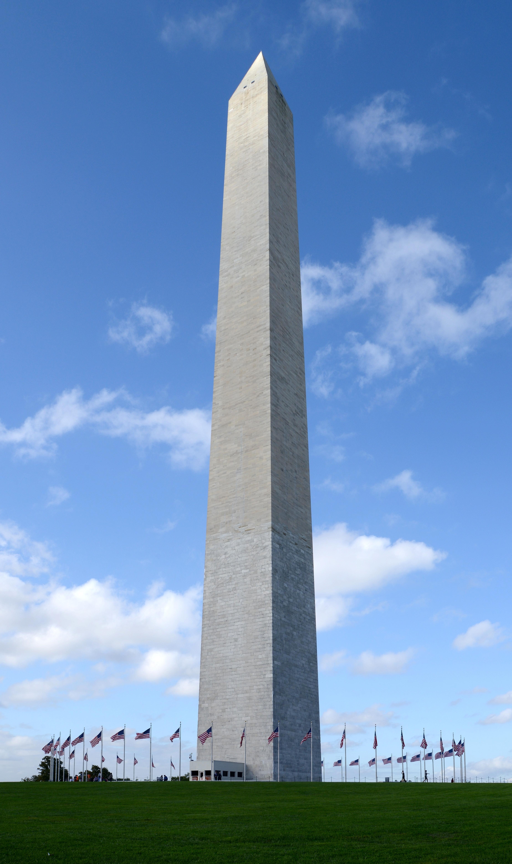 The Washington Monument in Washington, D.C. Photo taken on October 5, 2016