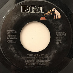BRUCE HORNSBY AND THE RANGE:THE WAY IT IS(LABEL SIDE-A)