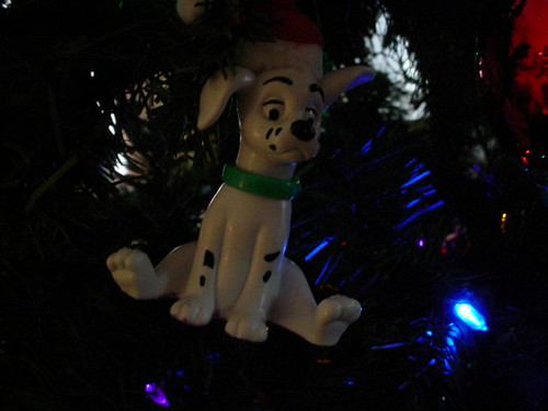 Dalmatian tree ornament