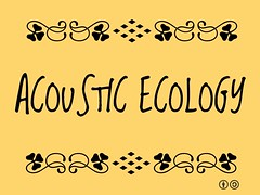 Acoustic Ecology