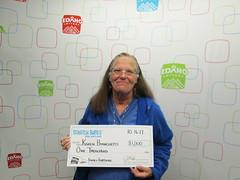 Karen Bianchetti - $1,000 - Fame & Fortune - Boise - Stinker Stores