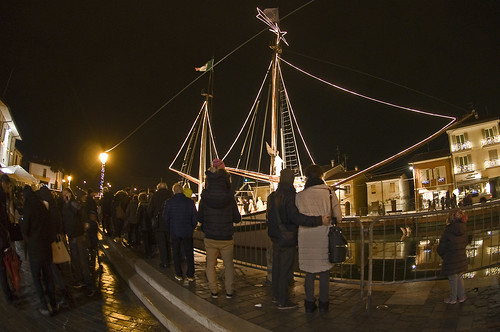 Inaugurazione Presepe Marineria