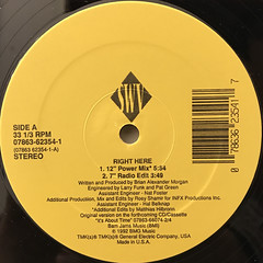 SWV:RIGHT HERE(LABEL SIDE-A)