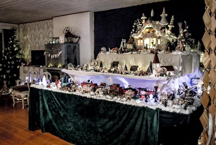 Loviisan Wanhat joulutalot talo nro 19 Kimmon joulumaa Kimmo Lonka kuinka iso joulukoriste_