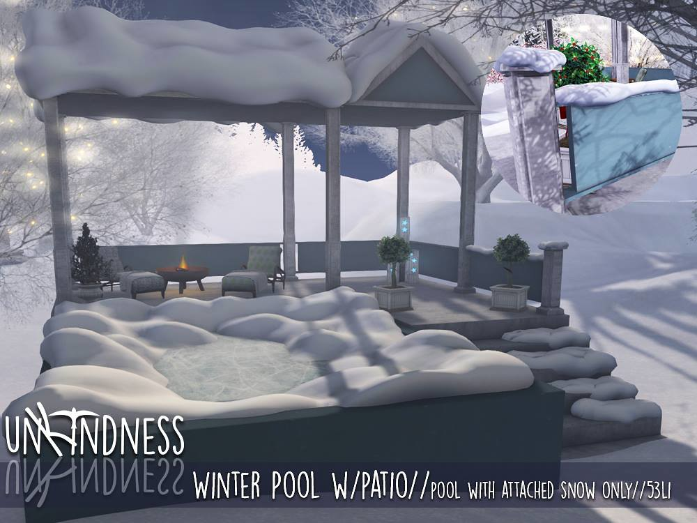 uK - Winter Pool wPatio - FaMESHed - TeleportHub.com Live!