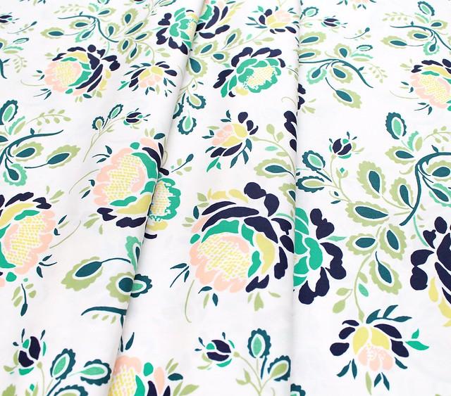 Art Gallery Fabrics Floralia Fusion Stenciled Petals Floralia
