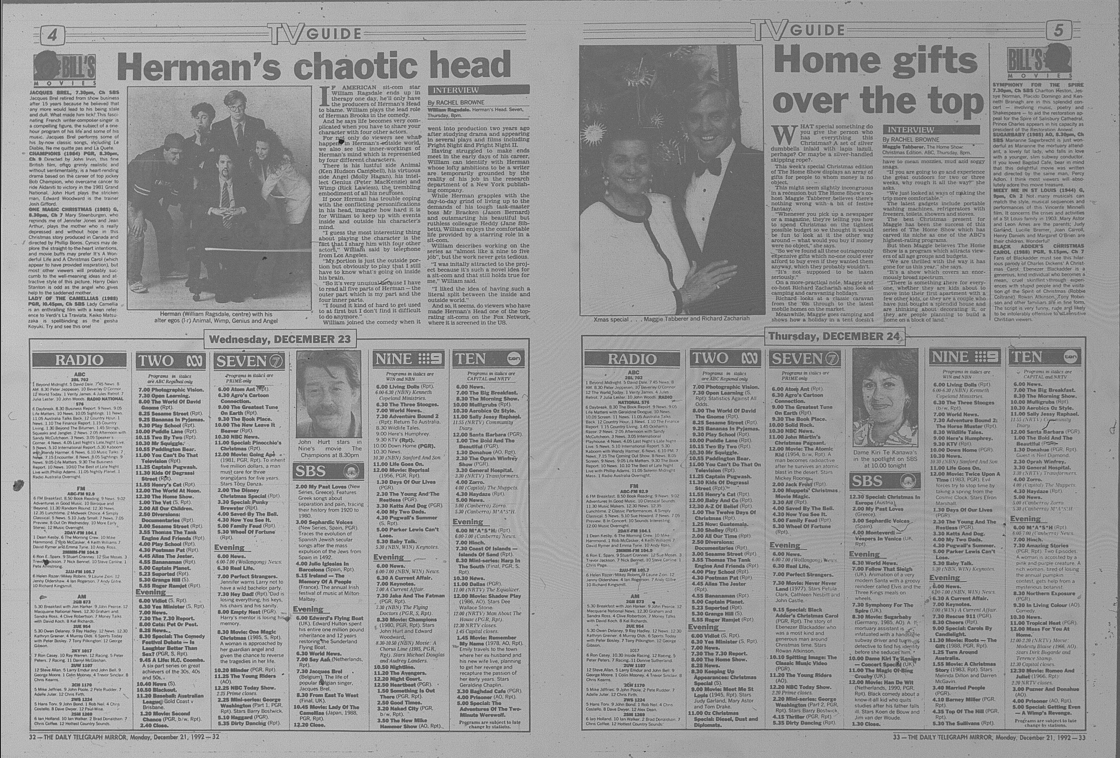 December 1992 daily telegraph 0044