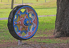 Wagon Wheel at International Showman's Museum