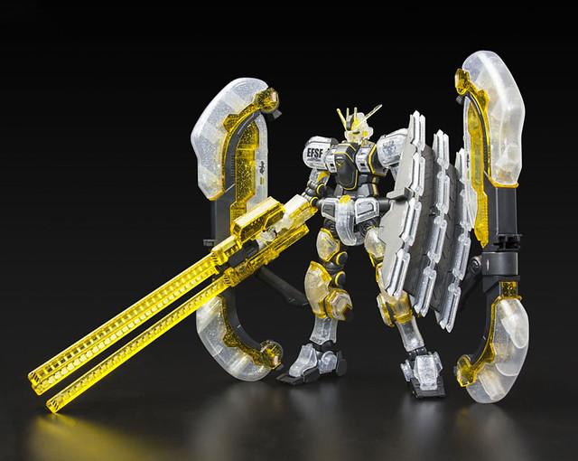 HG《機動戰士鋼彈 雷霆宙域戰線》擎天神鋼彈 「彩透限定版本」!HG 1/144 Atlas Gundam (GUNDAM THUNDERBOLT Ver.) Limited Clear Ver.