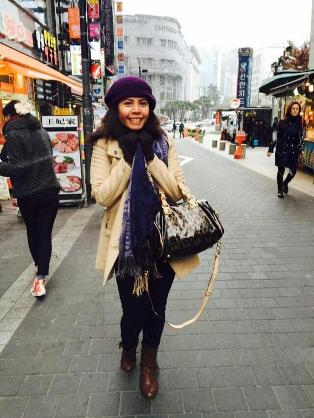 Hazel in Korea OOTD