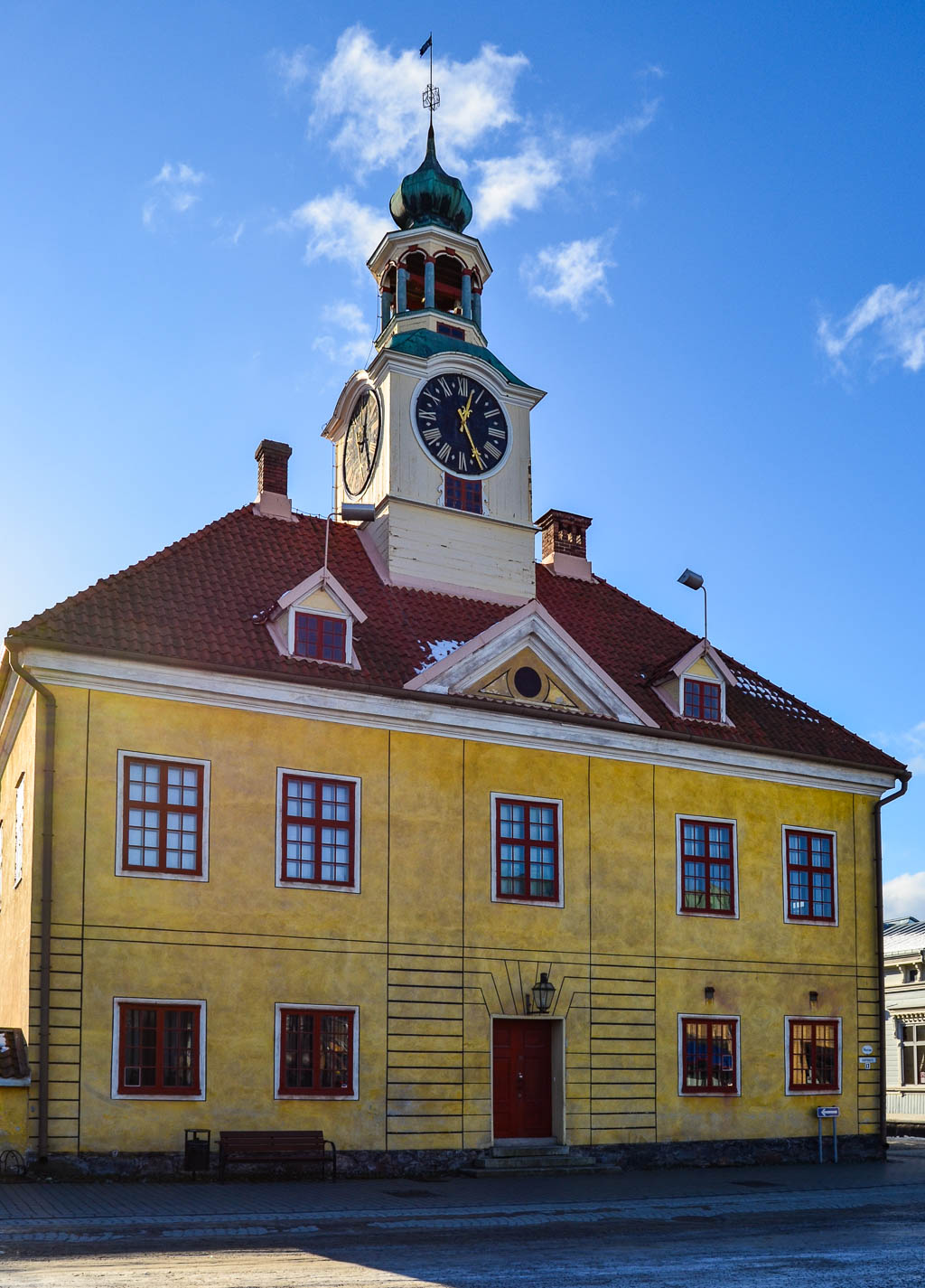 The old town hall in Old Rauma