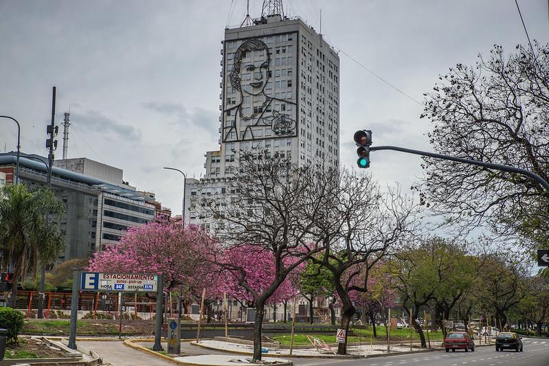 Evita Buenos Aires Argentina Argentiina building rakennus