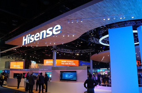 Hisense at CES 2015