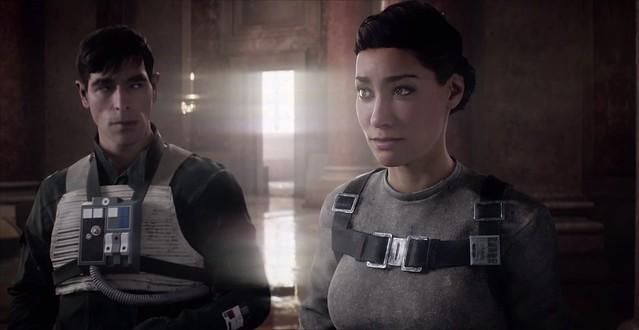 스타 워즈 Battlefront 2 - 레이아와 이덴
