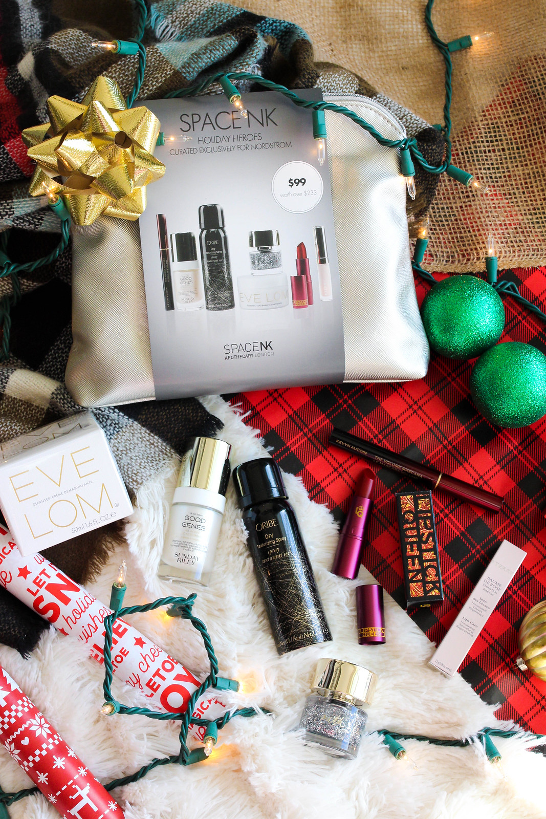 SPACE.NK.apothecary Holiday Heroes Silver Edition Collection Holiday Beauty Gift Set
