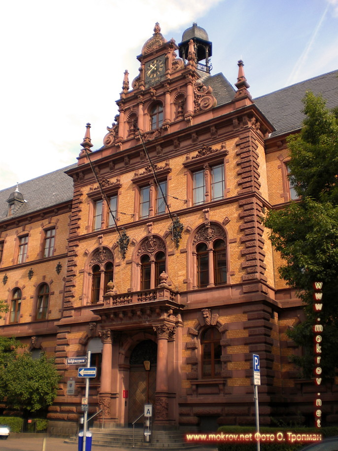 Исторический центр Города Франкфурт на Майне фотозарисовки