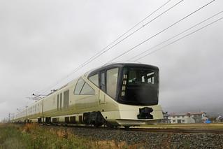 今日のトランスイート四季島 - 新幹線から激写