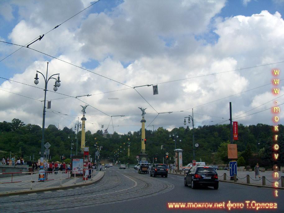 Прага — Чехия с фотоаппаратом прогулки туристов