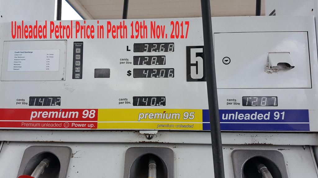 Petrol-19-11-17-Perth