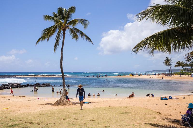 Po'ipu Beach - Po'ipu - Kauai - Hawaii
