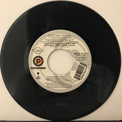 LUTHER VANDROSS AND JANET JACKSON:THE BEST THINGS IN LIFE ARE FREE(RECORD SIDE-A)