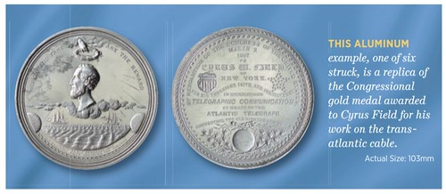 Cryus Field medal
