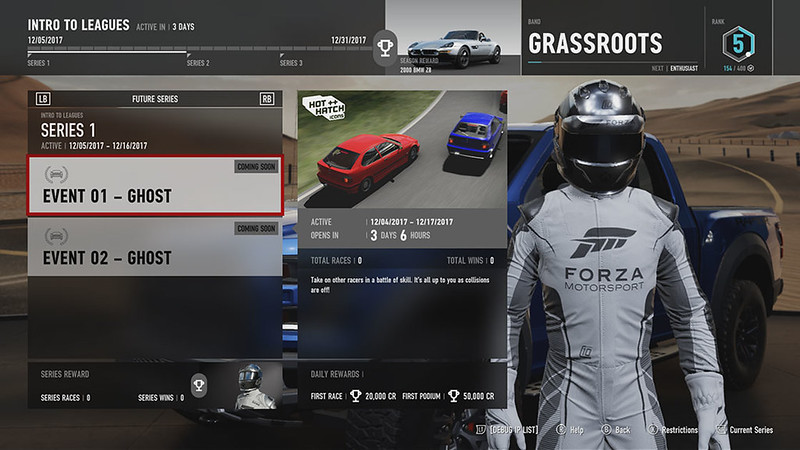 Forza Motorsport Leagues