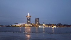 Amsterdam Tower and Eye filmmuseum.