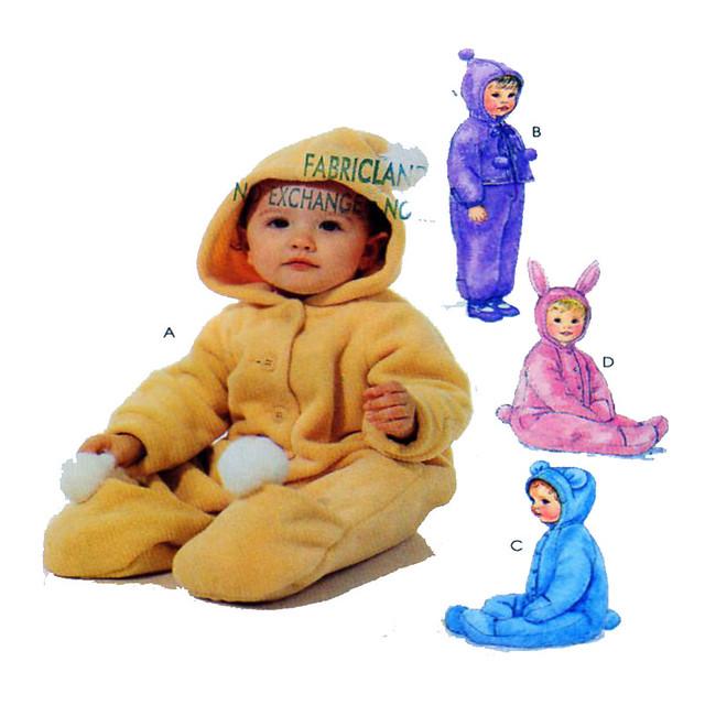 McCalls 7898 baby bunting bag pattern