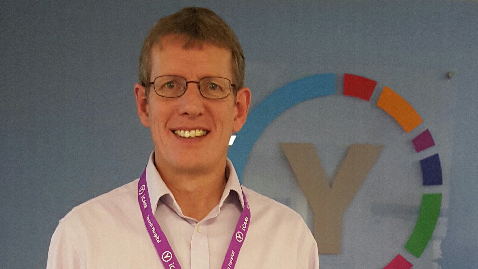 Photo of Mark Appleby, Director of HR and Organisational Development, Yeovil District Hospital NHS Foundation Trust