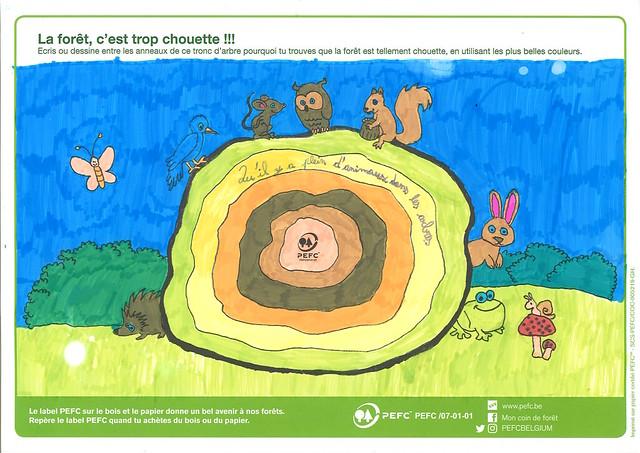 Winnaars kleurwedstrijd 2017 | Les gagnants de notre concours de coloriage 2017 (Klassen | classes)
