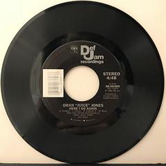 ORAN JUICE JONES:CURIOSITY(RECORD SIDE-B)