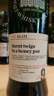 SMWS 10.132 - Burnt twigs in a honey pot