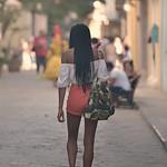 Beautiful girl in Havana.