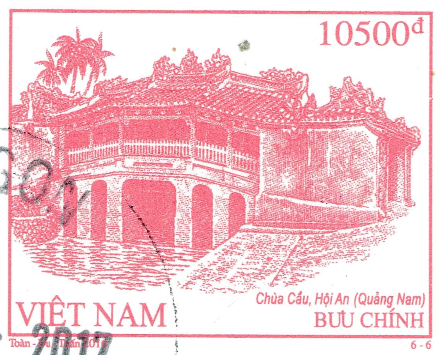 Vietnam - Chùa Cầu Bridge, Hoi An (2016)